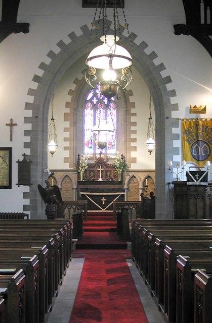 Holy Trinity, Hardwicke, Herefordshire - East end