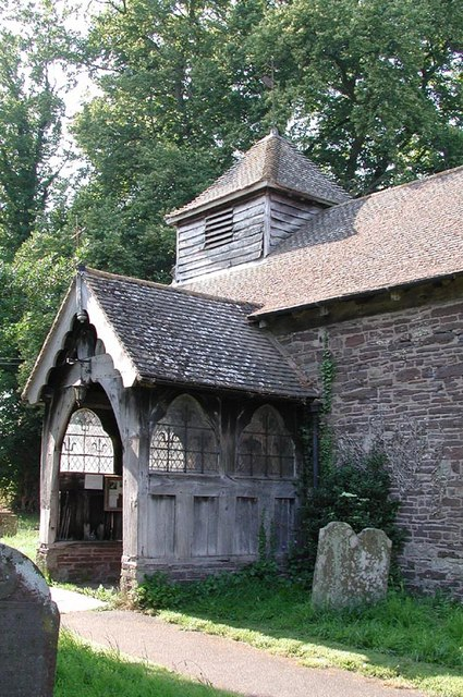 St Mary Magdalene, Turnastone, Heref - Porch