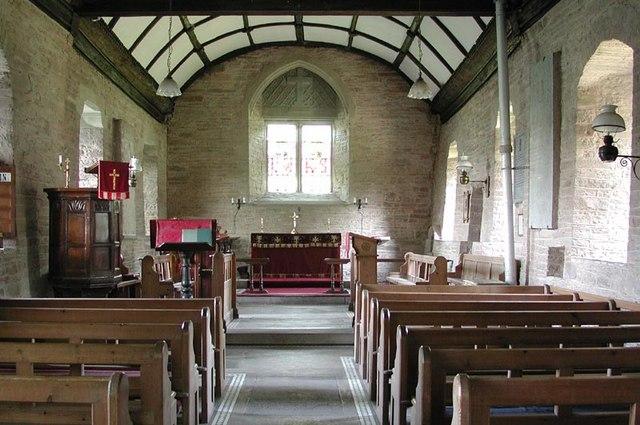 St Mary Magdalene, Turnastone, Heref - East end