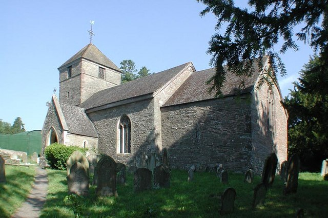 St Peter, Rowlestone, Heref
