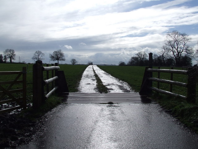 Access to Strettons Fields Farm