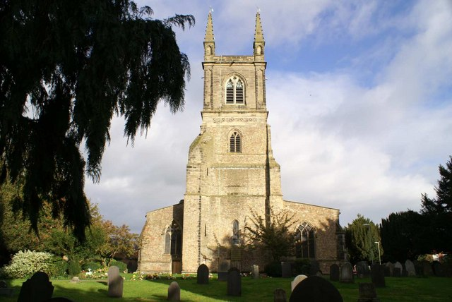 Wycliffe's Church of St Mary's Lutterworth