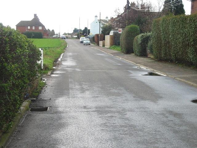 Looking S along Jubilee Road
