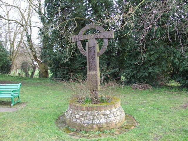 Wreningham Village Sign