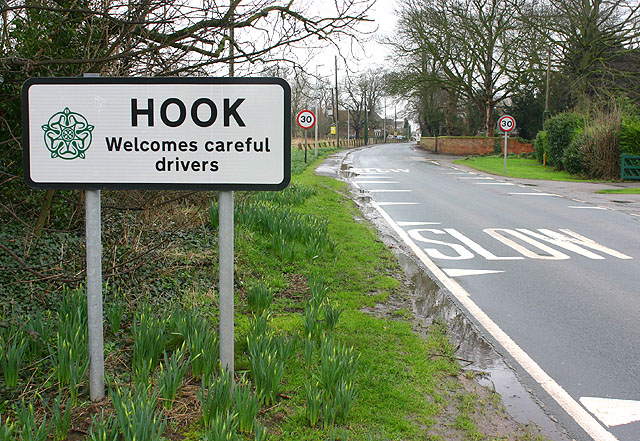 Hook, Church Lane