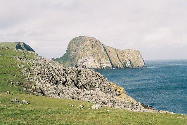 Sheep Rock, Fair Isle, Shetland