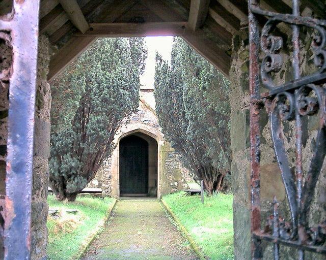Porth Eglwys Llangybi Church Porch
