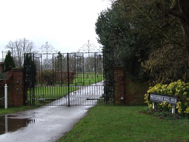 Gate to Wattlefield Hall
