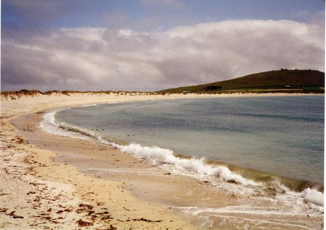 Beach by the A 970, Sumburgh, Shetland