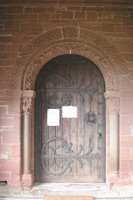St Catherine, Hoarwithy, Herefordshire - Doorway