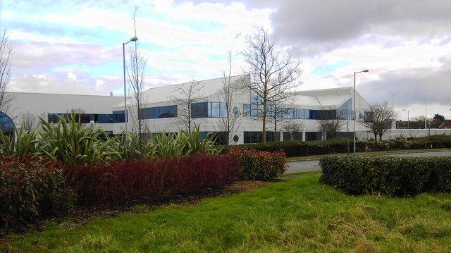 Former EMI CD factory, Penny Lane, Swindon