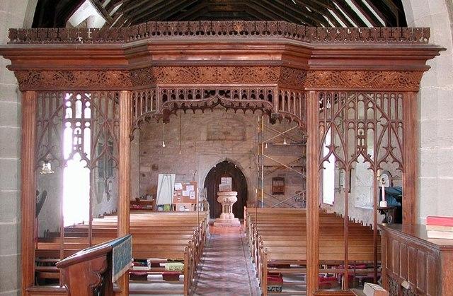 St Andrew, Allensmore, Heref - West end