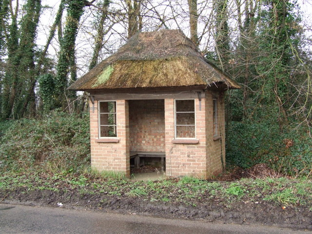 Thatched Bus Shelter, Tacolneston