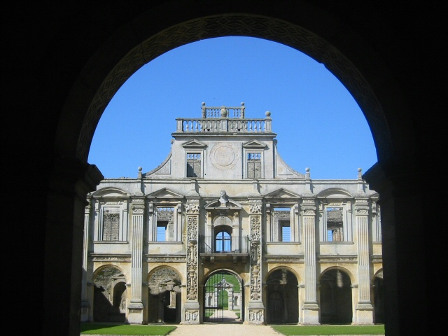 The Courtyard at Kirby Hall