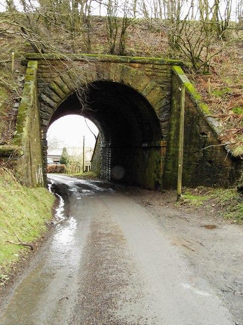 Underpass leading to Rowanburnfoot