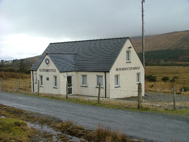 Glenbrittle Mountain Rescue Base
