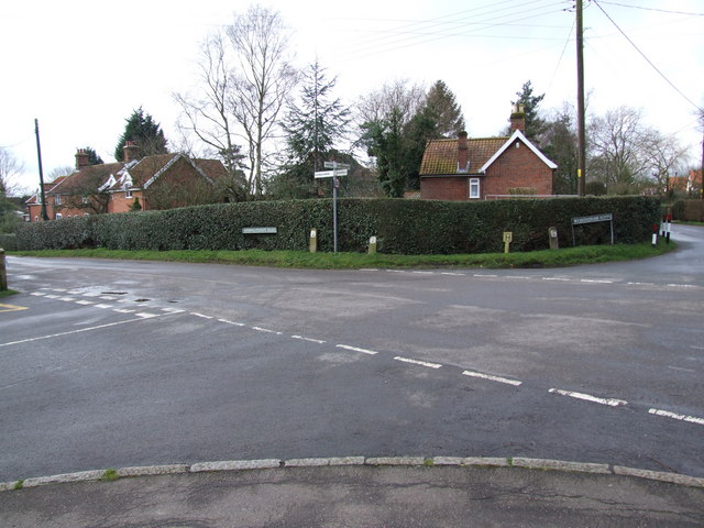 Crossroads, Wreningham Village Centre