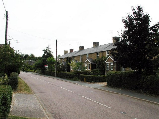 New Row - High Street - Abbotsley