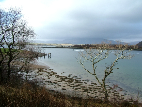North end of Eriska and the Mouth of Loch Creran