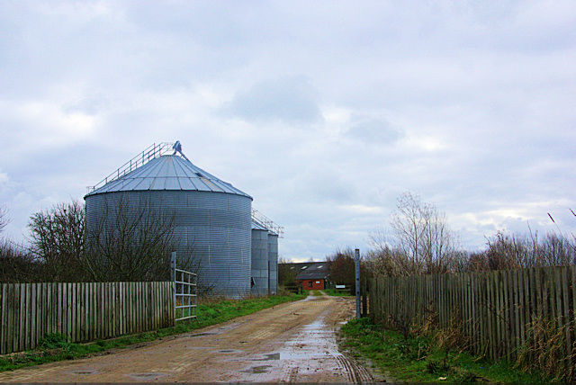 Silos by Acorn Farm Entrance