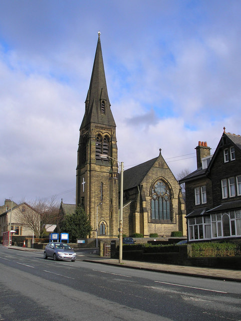 St. James's Church and trolley post