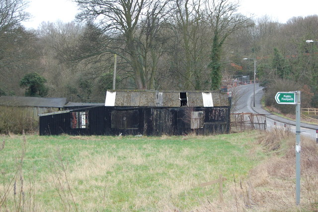 Shed between Hamsterley and Blackhall Mill