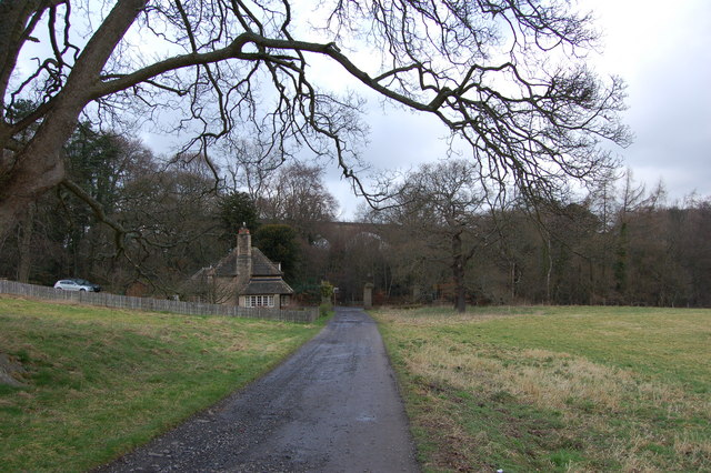 Viaduct carrying Derwent walk, Hamsterley Hall