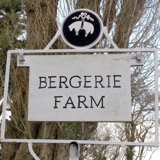 Bergerie Farm sign, Beaulieu Estate