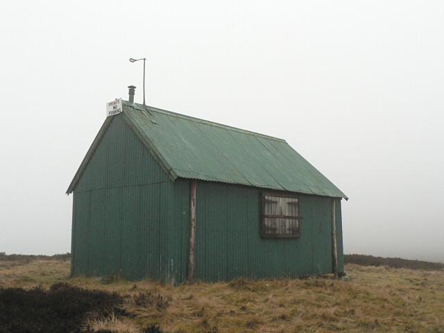 Fishing hut, Loch Hoil