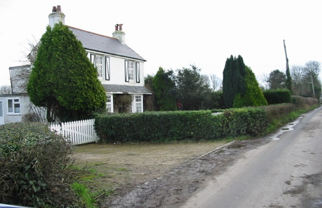 View of Roman Road and house