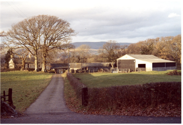 Penrhyngerwyn Farm, 1973