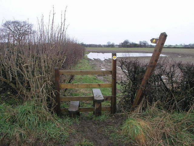 Path to Loppington