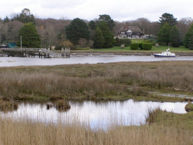 View across the Beaulieu River