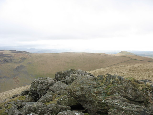 The  tor at the summit of Gyrn Goch