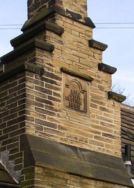 Detail of chimney, Bay Hall, Huddersfield