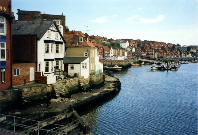 Eastern side of Whitby Harbour from the bridge