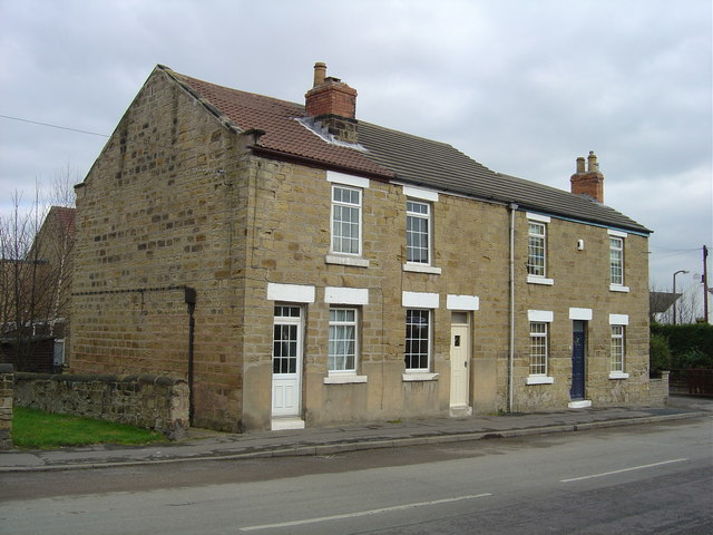 Cottages in Bramley