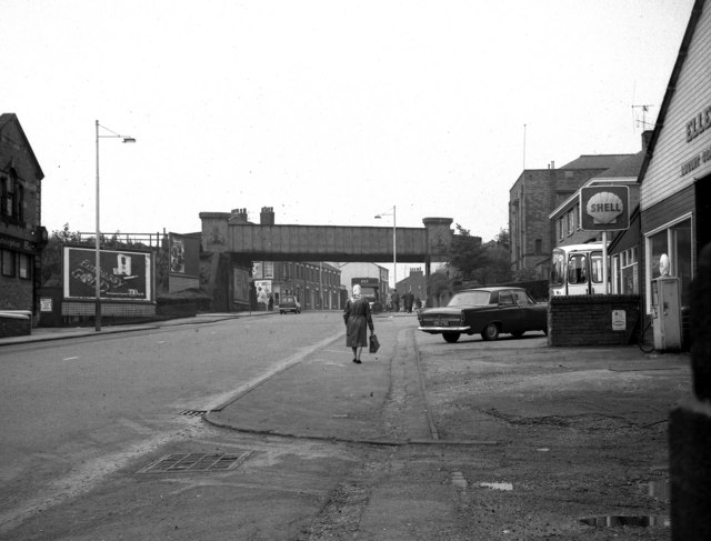 Wardleworth Bridge, Rochdale, Lancashire,  from the east