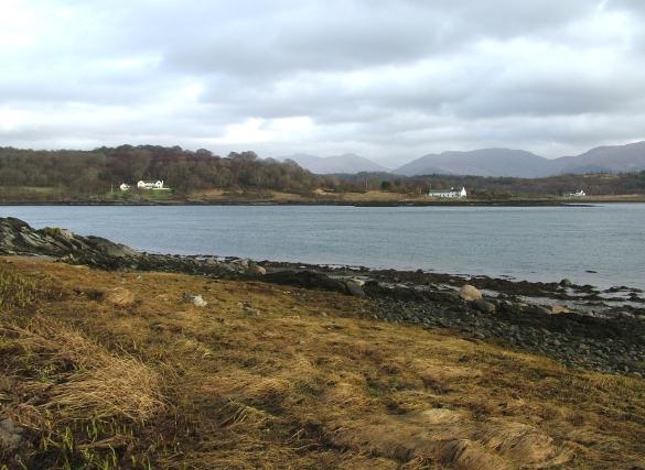 From Eriska across Loch Creran to North Shian