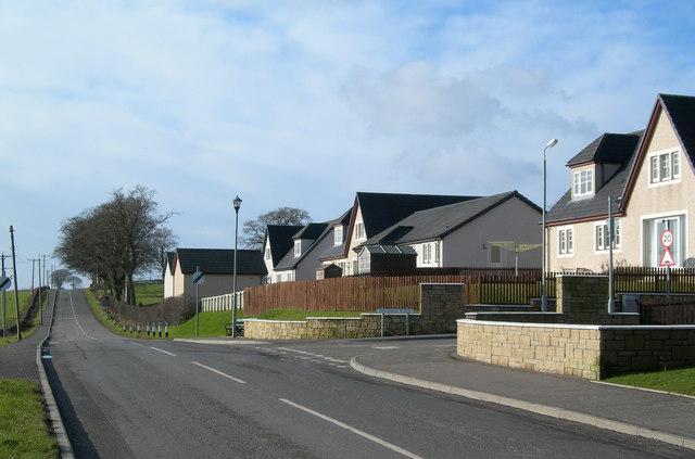 New Houses at Ochiltree