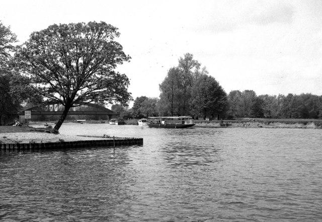River Thames just below Windsor Railway Bridge