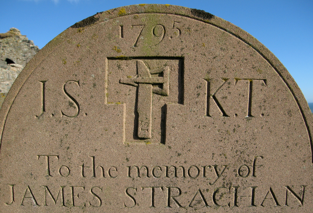 Farmer's gravestone, St Mary of the Storms, Cowie