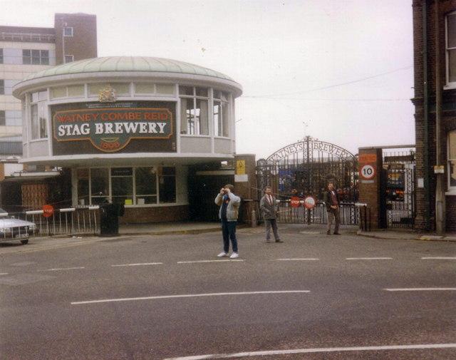 Watney Combe Reid - the Stag Brewery, Mortlake 1989