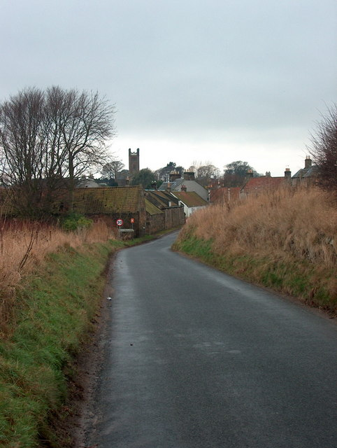 Kilconquhar from the East