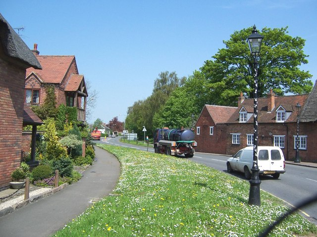 Buildings in the centre of Dunchurch