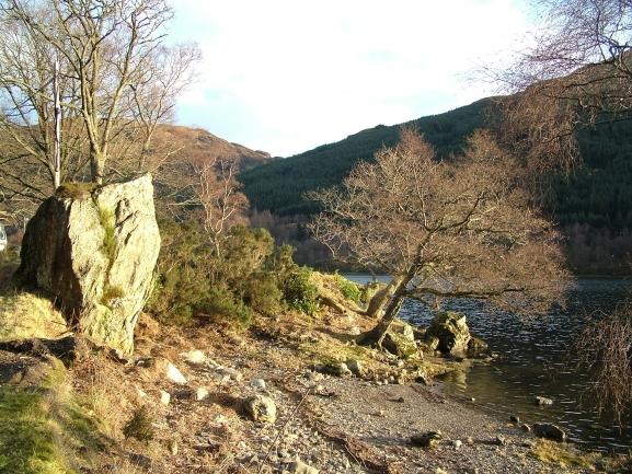 Bruce's Stone, Loch Voil