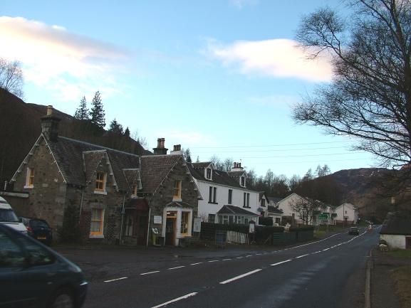 Winter Evening, Lochearnhead