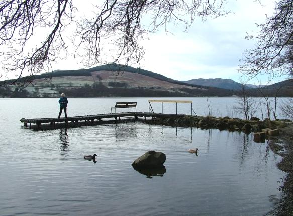 Jetty and Ducks, Loch Earn
