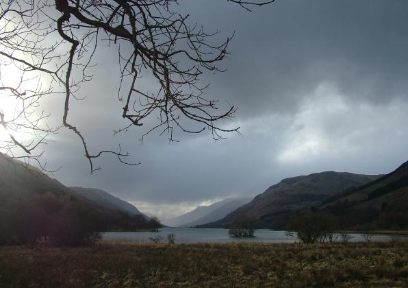 Loch Voil - Gathering storm