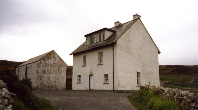 Former An Óige Youth Hostel at Crohy Head, Co Donegal